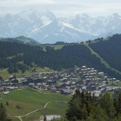 vue depuis le mont bisanne