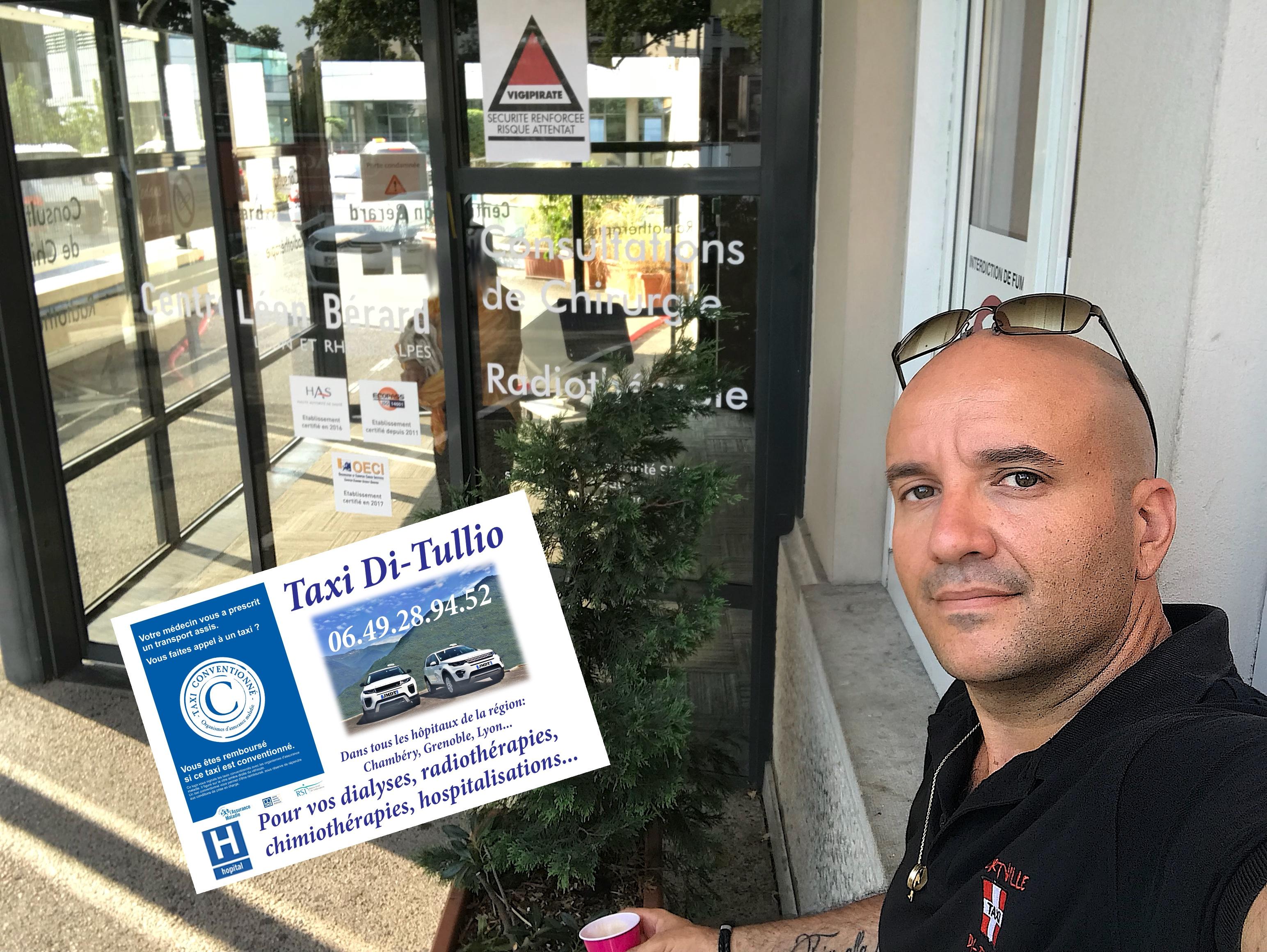 Taxi Radiothérapie Albertville pour Lyon: 06.49.28.94.52.