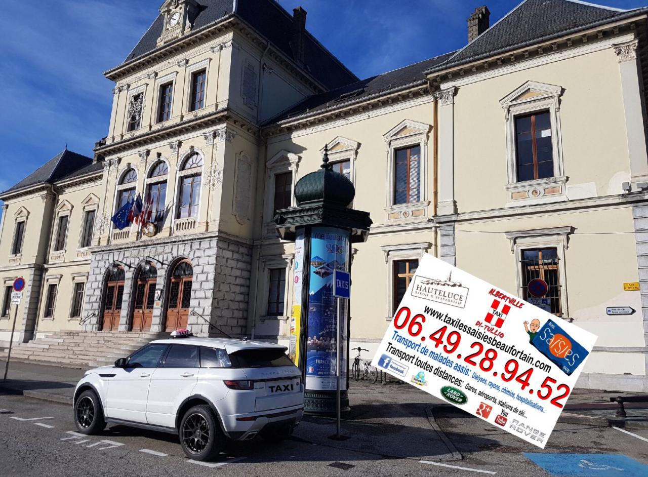 Taxi mairie Albertville pour les Saisies