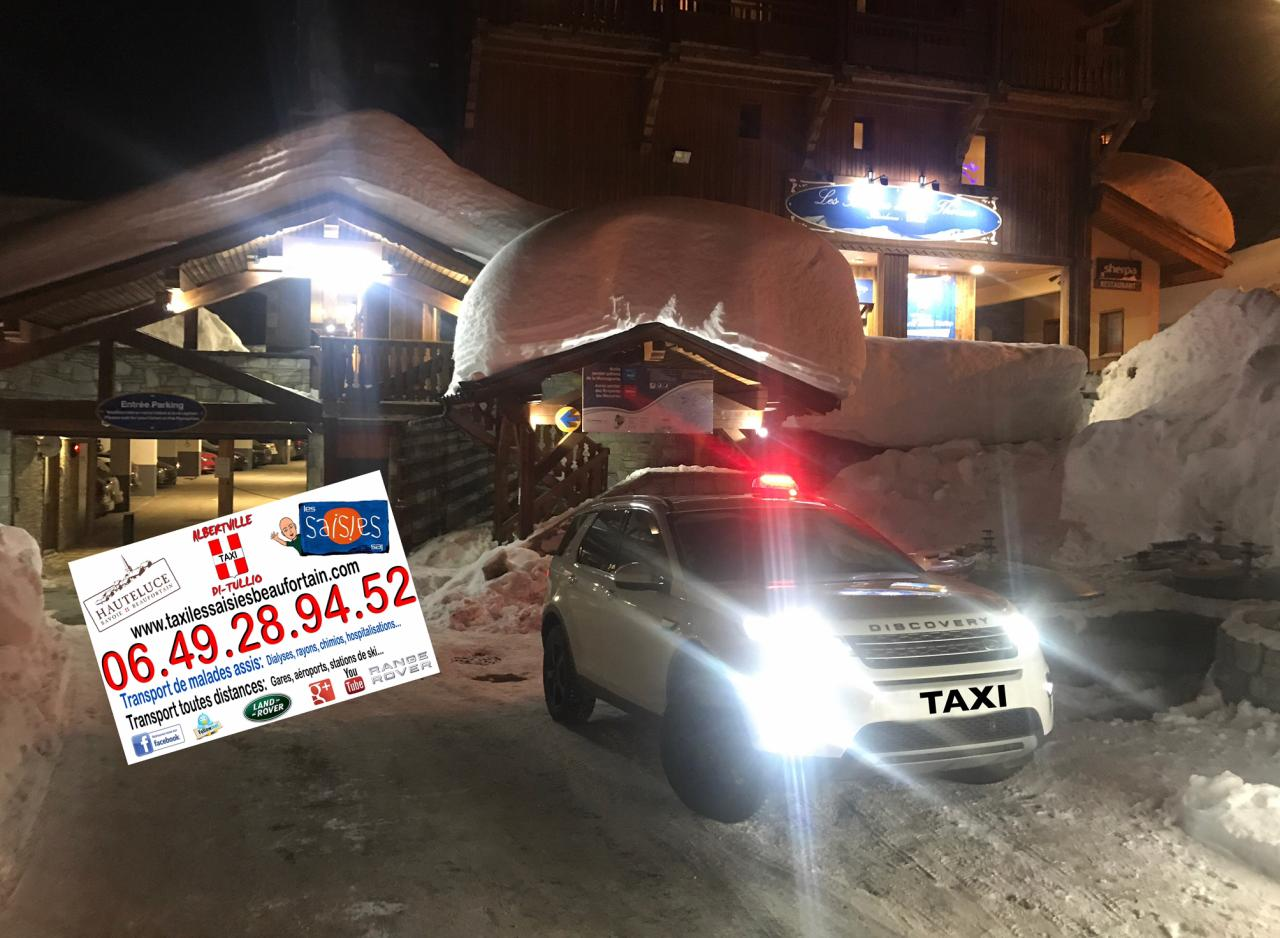 Taxi Val Thorens sur réservation