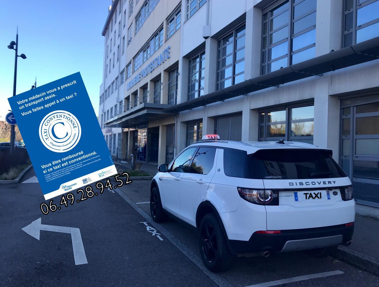 Taxi agréé cpam Albertville/Lyon