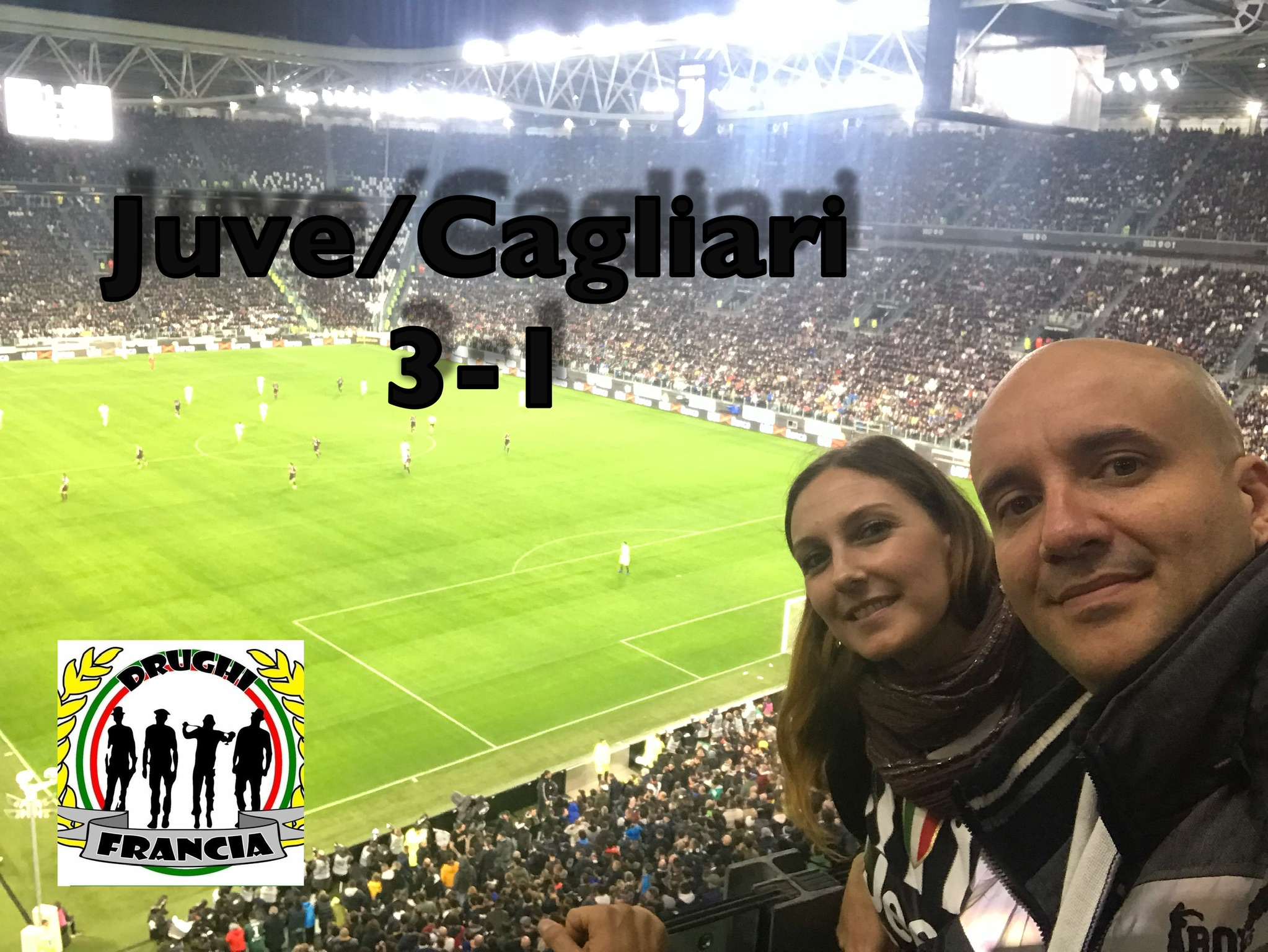 Taxis Tifosi Juventini à l'Allianz Stadium le 03/11/18