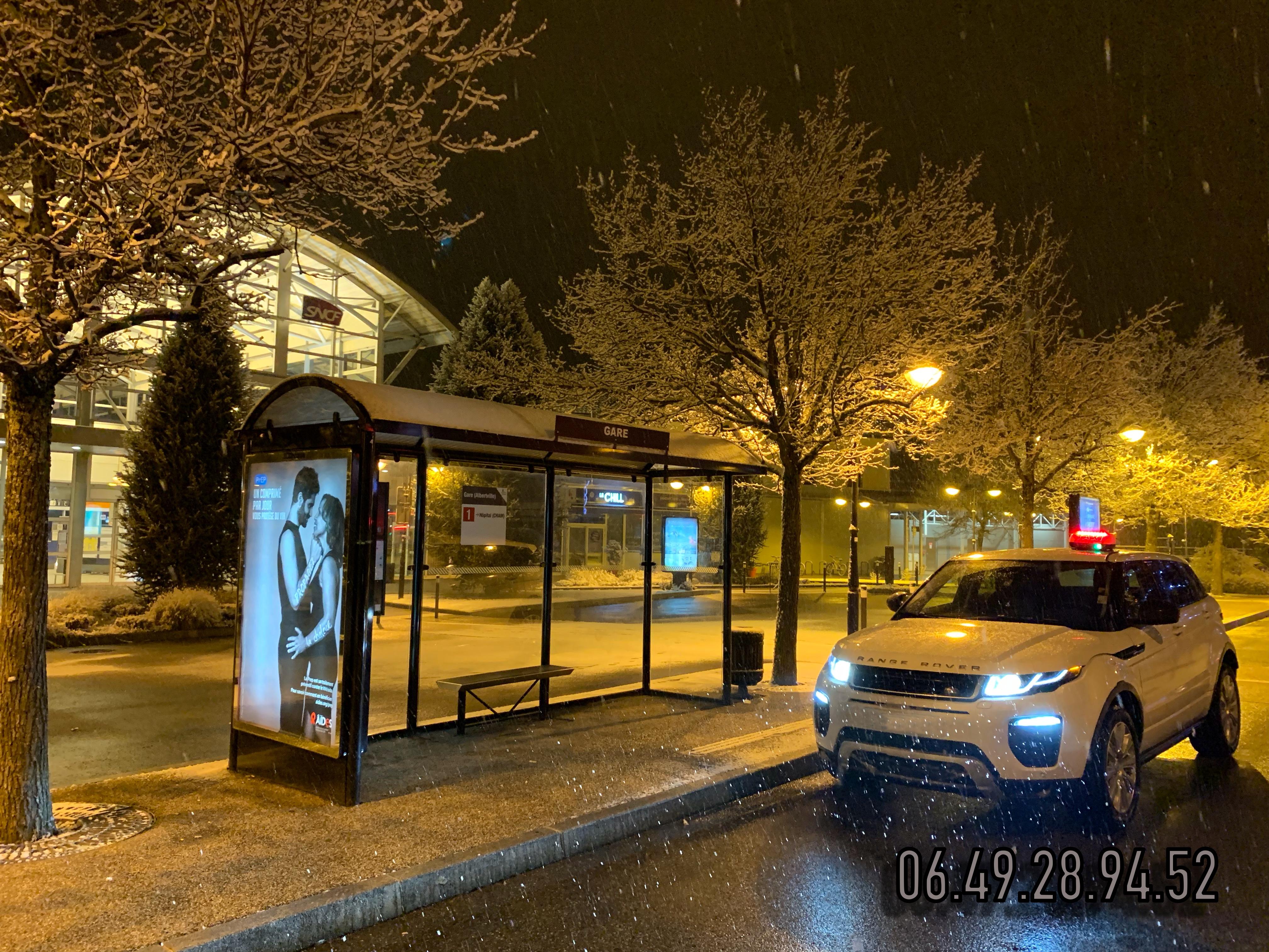Taxi gare Albertville pour Les Saisies.