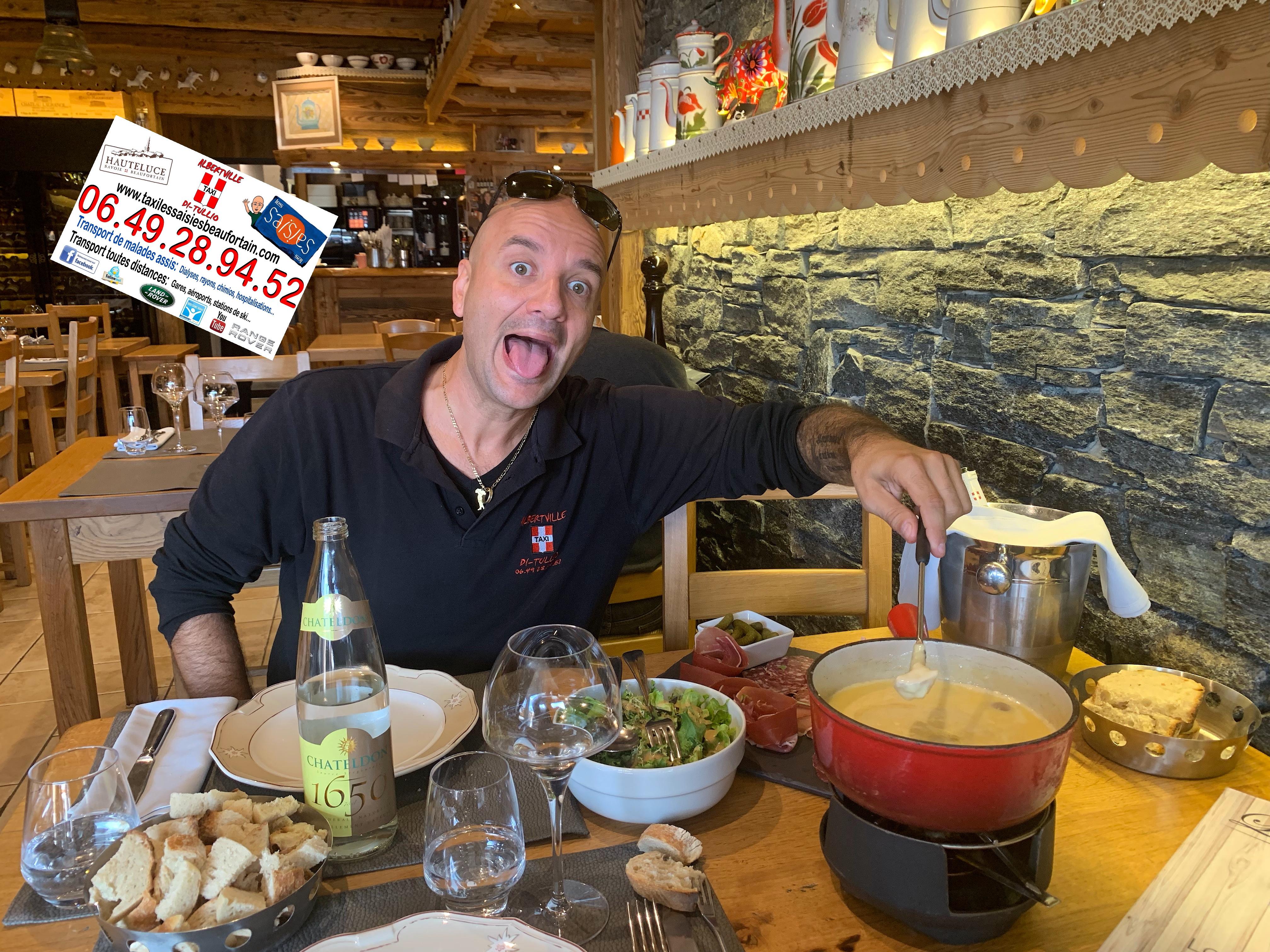 Restaurant Les Arcades aux Saisies.