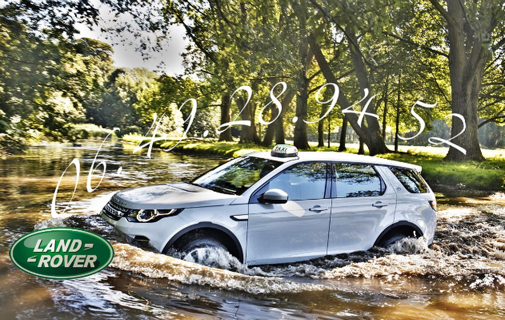 Taxi Albertville Discovery Sport HSE Land Rover