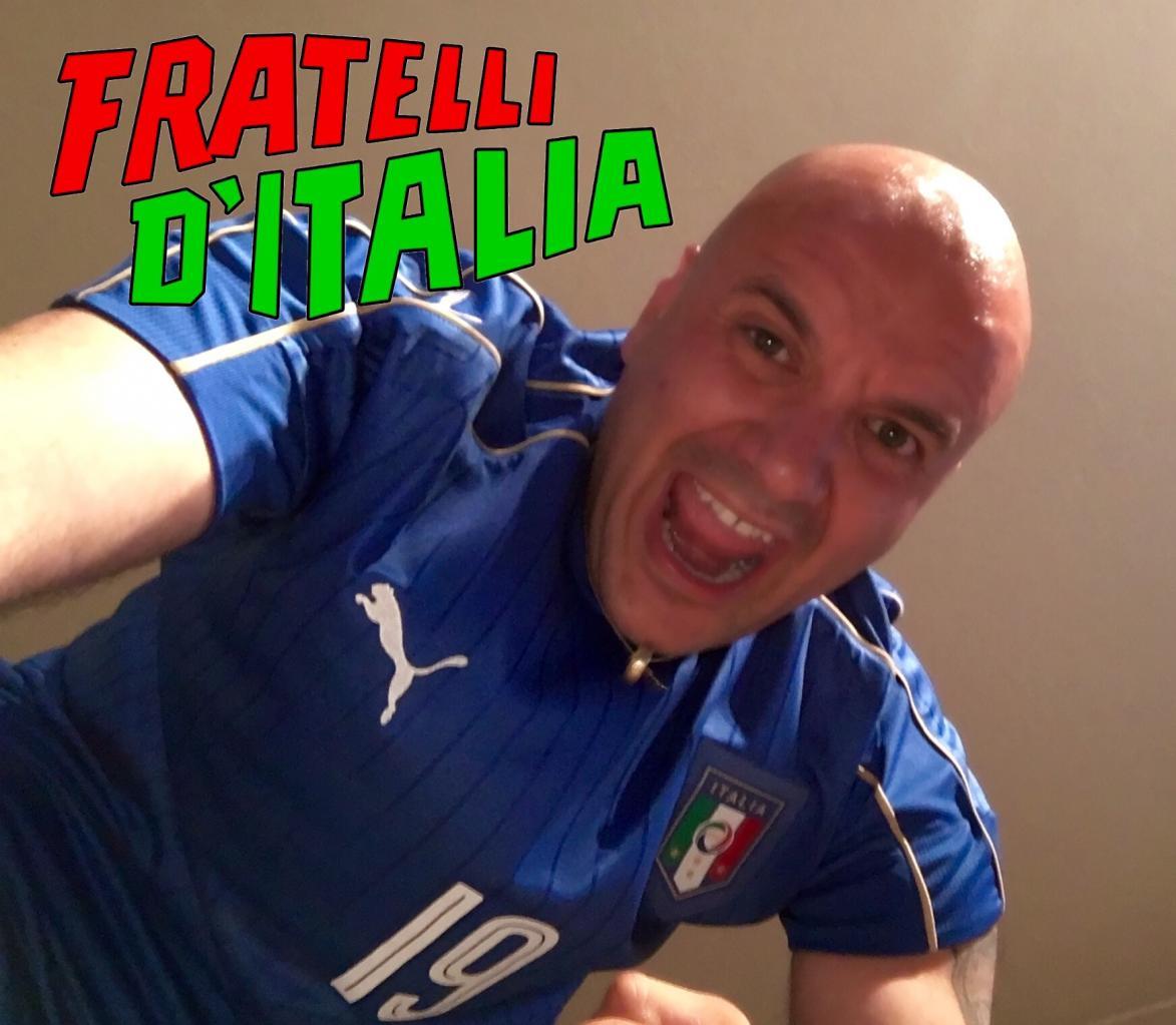 Taxi Albertville Di Tullio tifosi de la squadra azzurra!