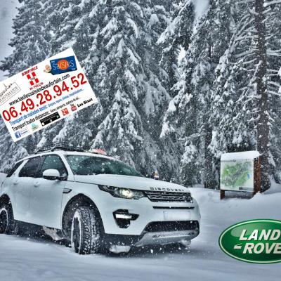 Taxi Land Rover Discovery Sport HSE