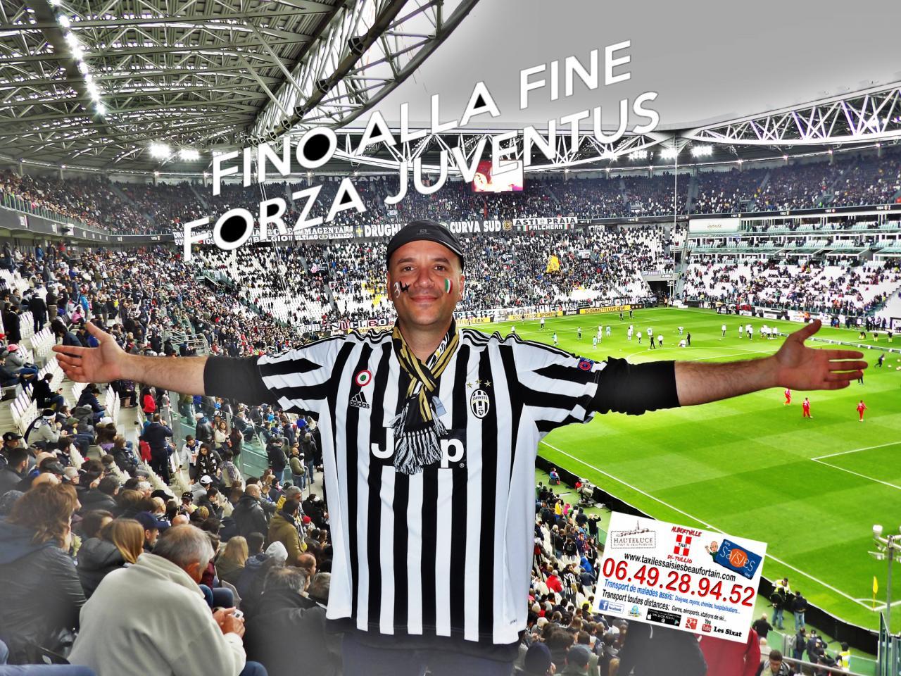 Taxi Albertville Di Tullio au Juventus Stadium le 01/05/16
