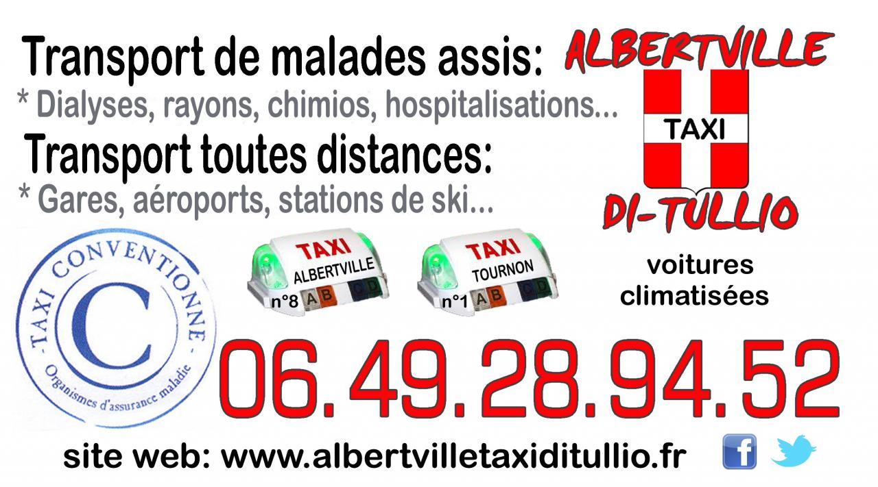 Taxi Albertville Gare