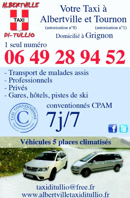 Taxi Tournon au 06.49.28.94.52
