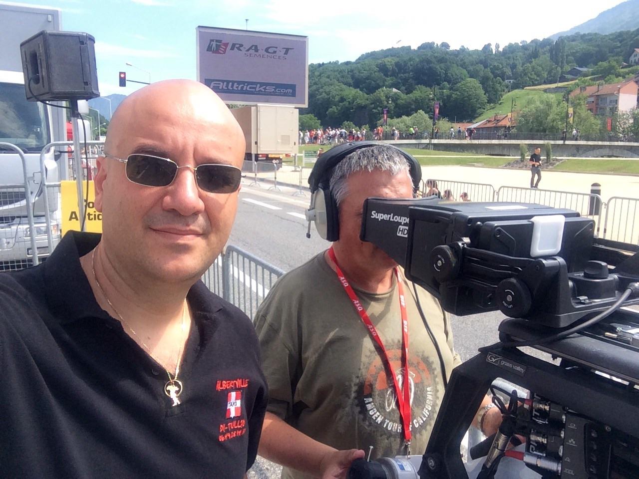 Taxi Albertville Di Tullio critérium du Dauphiné 2015.