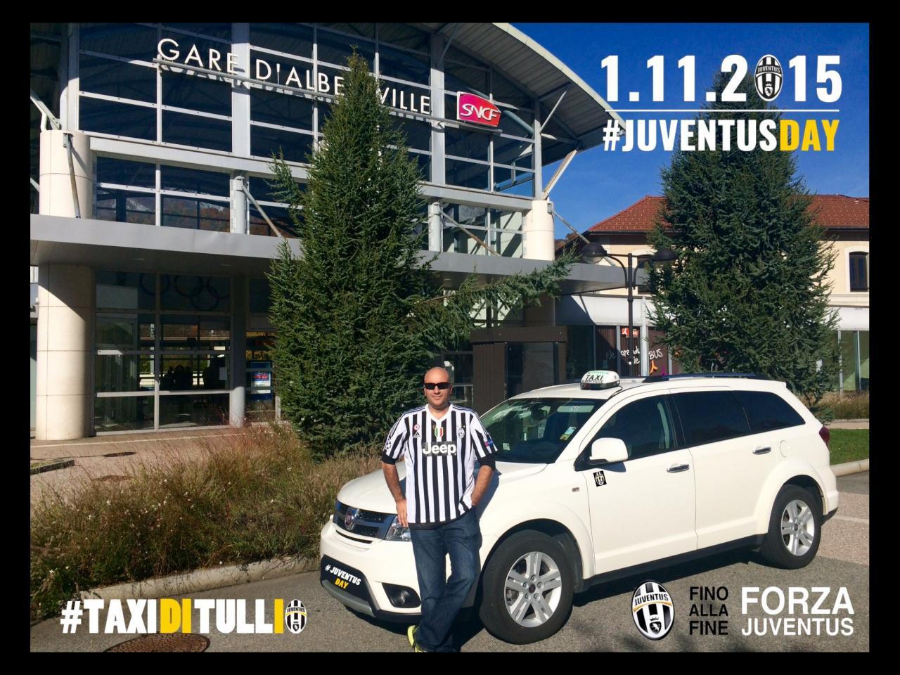 Taxi Albertville Juventus Day