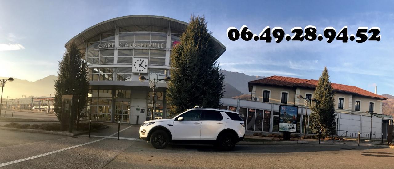 Taxi Gare SNCF Albertville: 06.49.28.94.52