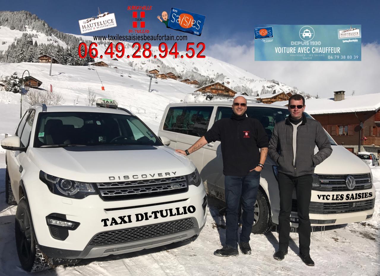 Taxi Di Tullio partenaire Vtc Les Saisies au 06.49.28.94.52