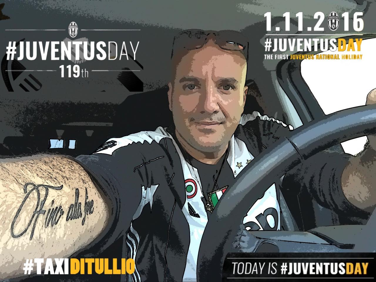 #TaxiDiTullio #JuventusDay