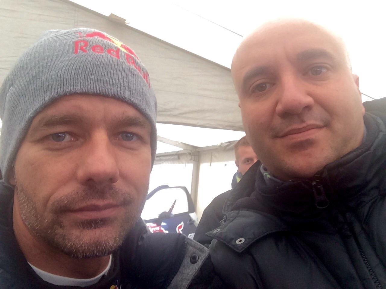 Taxi Albertville et Sébastien Loeb