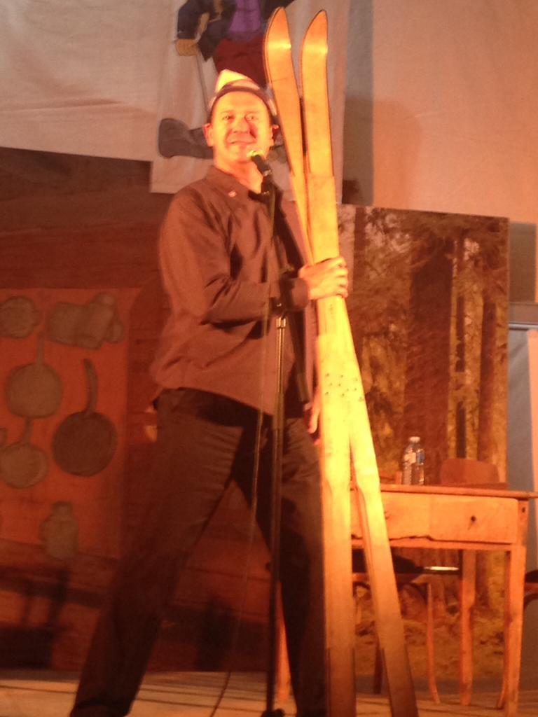 Jean Michel Matteï sur scène