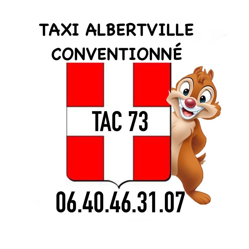 TAXI ALBERTVILLE, TAC 73, TAXI ALBERTVILLE CONVENTIONNÉ